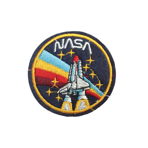 PC3456 - Nasa Rocket Badge (Iron On)