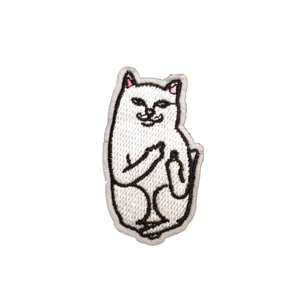 PH1965 - White Cat (Iron on)