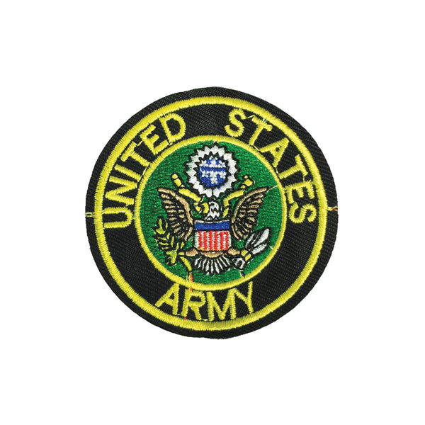 PC2089B - Black and Yellow United States Army(Iron On)