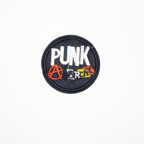 PC2092 - Punk Anarchy Round (Iron On)