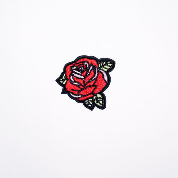 PH2025 - Small Rose Flower (Iron On)