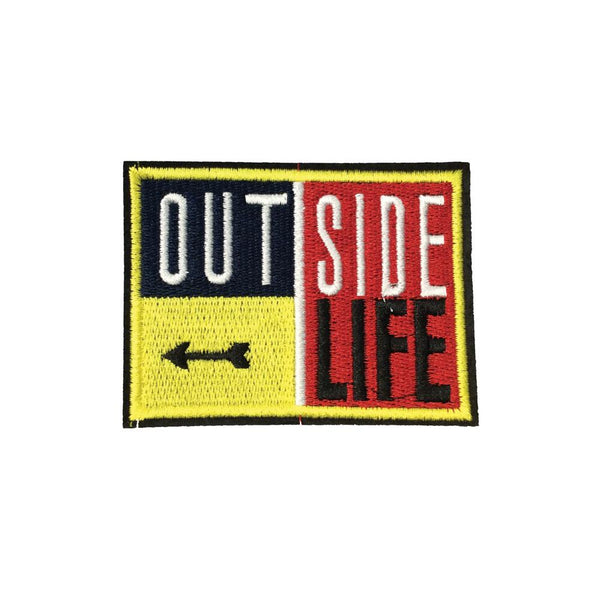 PC4003 - Outside Life Arrow (Iron On)
