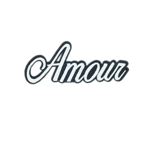 PC2527 - Amour Text (Iron On)