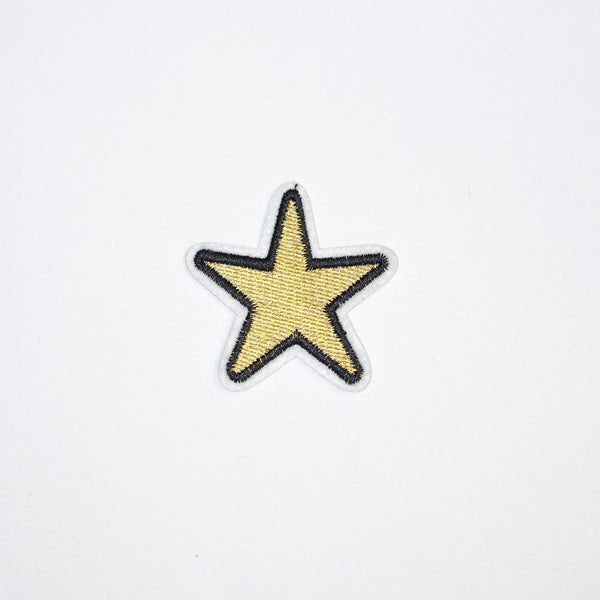 PC2093 - Golden Star (Iron On)