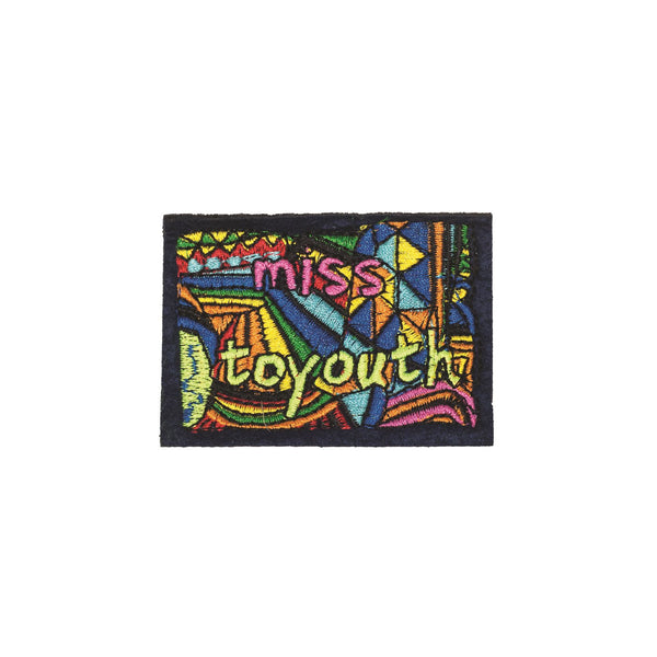 PC2281 - Colour Miss to youth flag badge (Iron on)