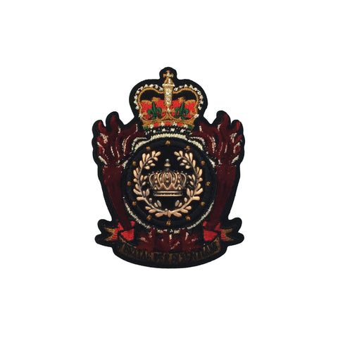 PC4158 - Golden Crowns Emblem (Iron On)