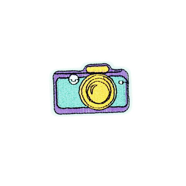PC2680 - Retro Pop Art Camera (Iron On)