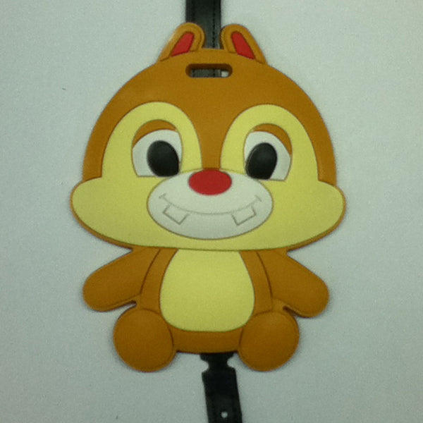 L00353 - Squirrel Luggage Tag