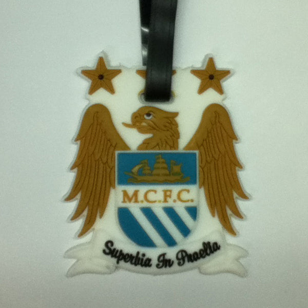 L00329 - M.C.F.C Luggage Tag Manchester City