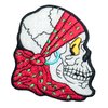 PH139 - Red Headband Skull (Iron on)