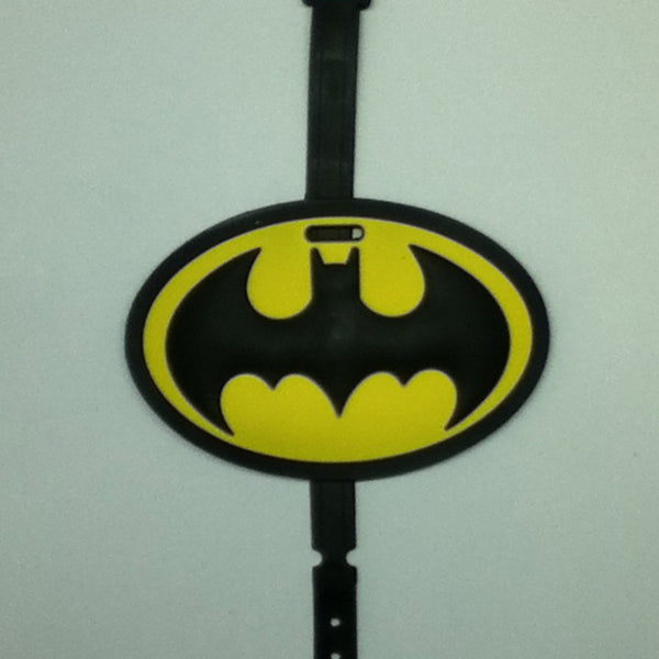 L00340 - Batman Logo Luggage Tag