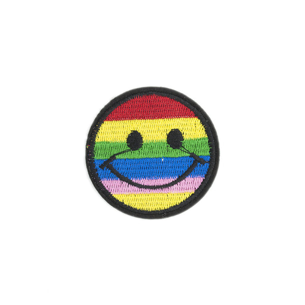 PT1162 - Rainbow Smile (Iron on)