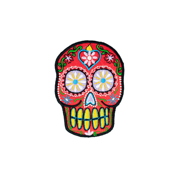 PH4 - Sweet Sugar Skull (Iron on)