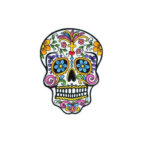 PH5 - Fancy Sugar Skull (Iron on)