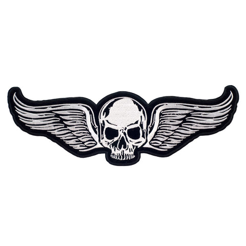 PH690B - Skull wings L (Iron on)