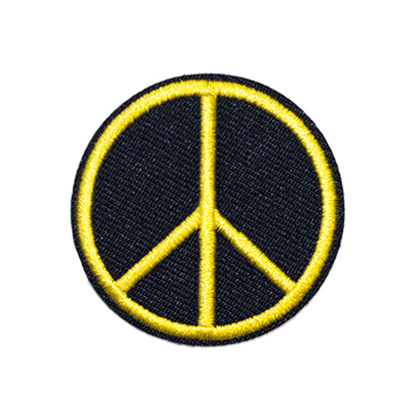 PH781 - Yellow Peace (Iron on)