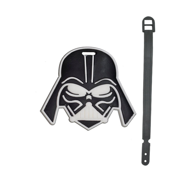 L00335 - Darth Vader Head Luggage Tag