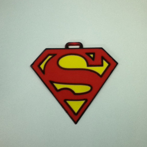 L00346 - Superman Small Logo Luggage Tag