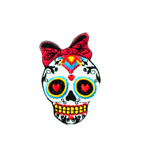 PH2 - Shy Sugar Skull (Iron on)