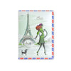 H00033 - I Love Paris Matte Passport Holder
