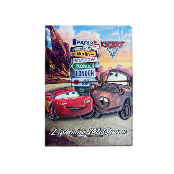 H00059 - Cars Lightning McQueen Passport Holder