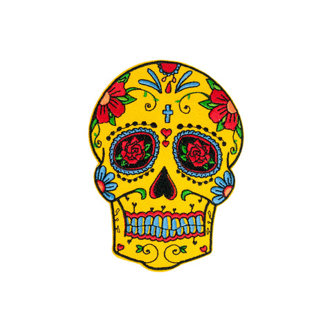 PH7 - Ex-Love Sugar Skull (Iron on)