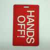 L00357 - Hands Off! Luggage Tag