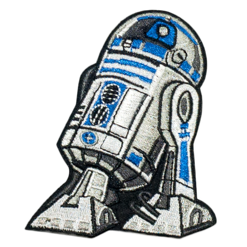 PH104 - R2 D2 Robot Star Wars (Iron on)