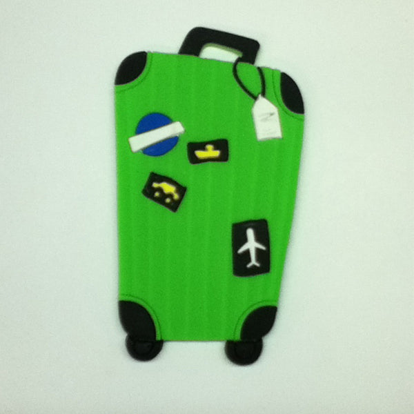 L00385 - Green Luggage Luggage Tag