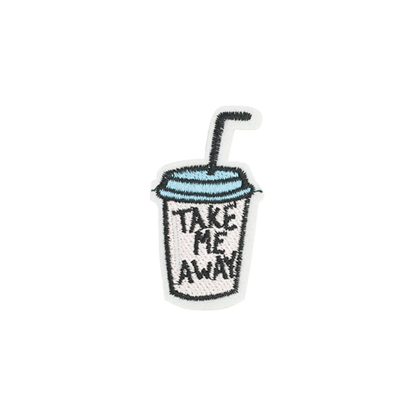 PT1262 - Take Away Drink (Iron on)
