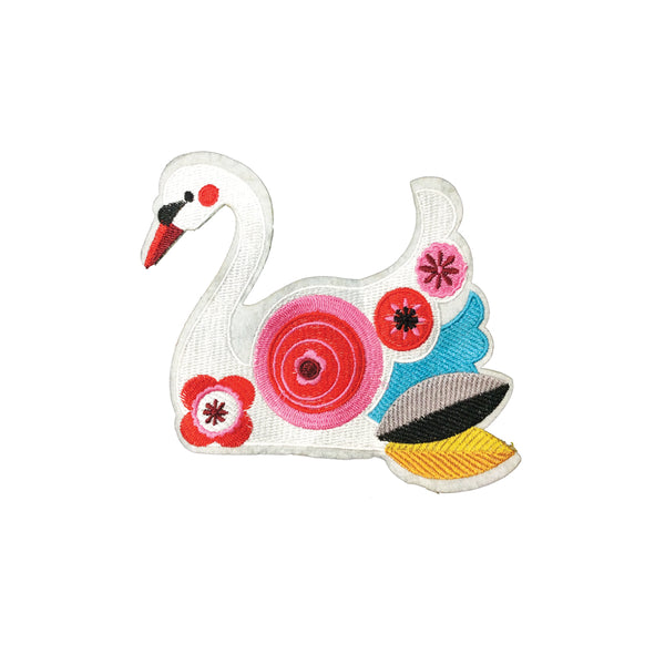 PC3949 - Pretty Swan Colours (Iron On)