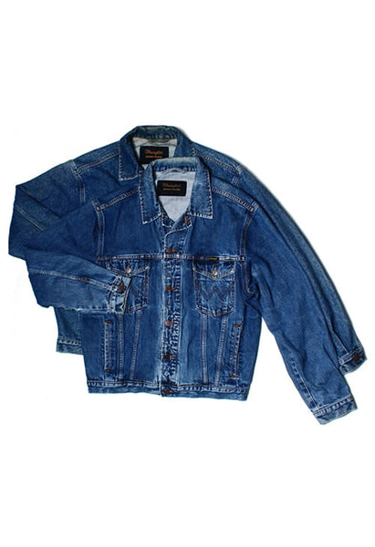 DARK BLUE VINTAGE A GRADE , LEVIS, WRANGLE, LEE, CARRERA AND SIMILLAR DENIM JACKETS