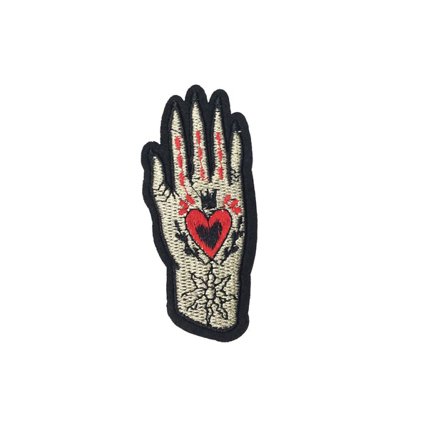 PC3597 - Heart Hand R (Iron On)