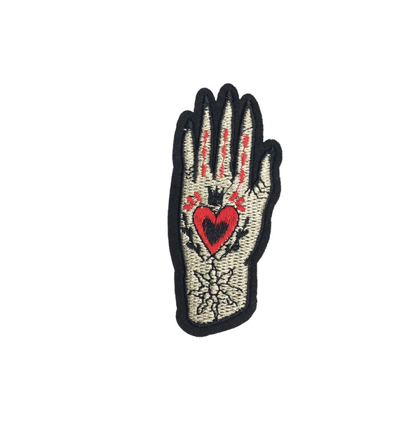 PC3597B - Heart Hand L (Iron On)