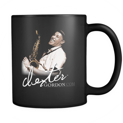 Dexter Gordon Signature Blue Note Session Mug (B) - Black