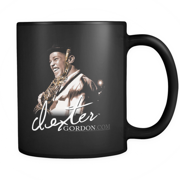 Dexter Gordon Signature Blue Note Session Mug - Black