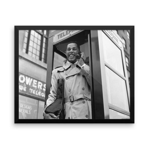 "Dexter Gordon High Resolution Framed Blue Note Session Photo (""Dexter Calling"" 1961) (A)"