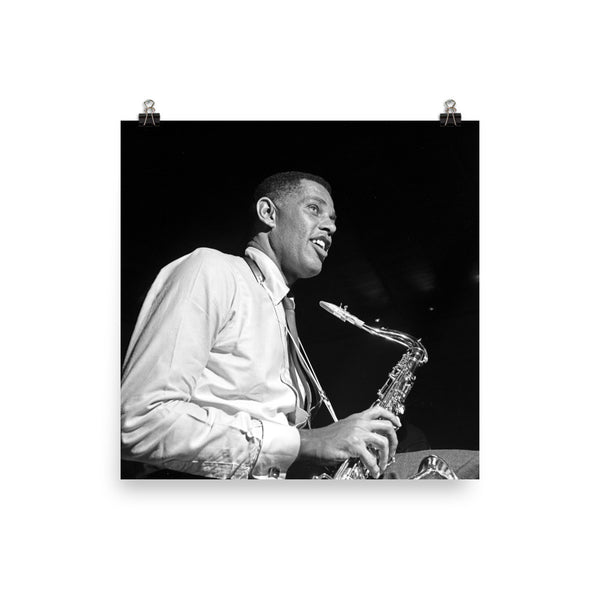 "Dexter Gordon High Resolution Blue Note Session Photo (""Doin' Alright"" 1961) (B)"