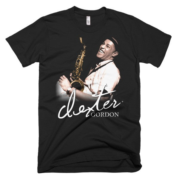 "Dexter Gordon Signature T-Shirt: Blue Note Records ""Go"" Session (1962) (Sepia)"
