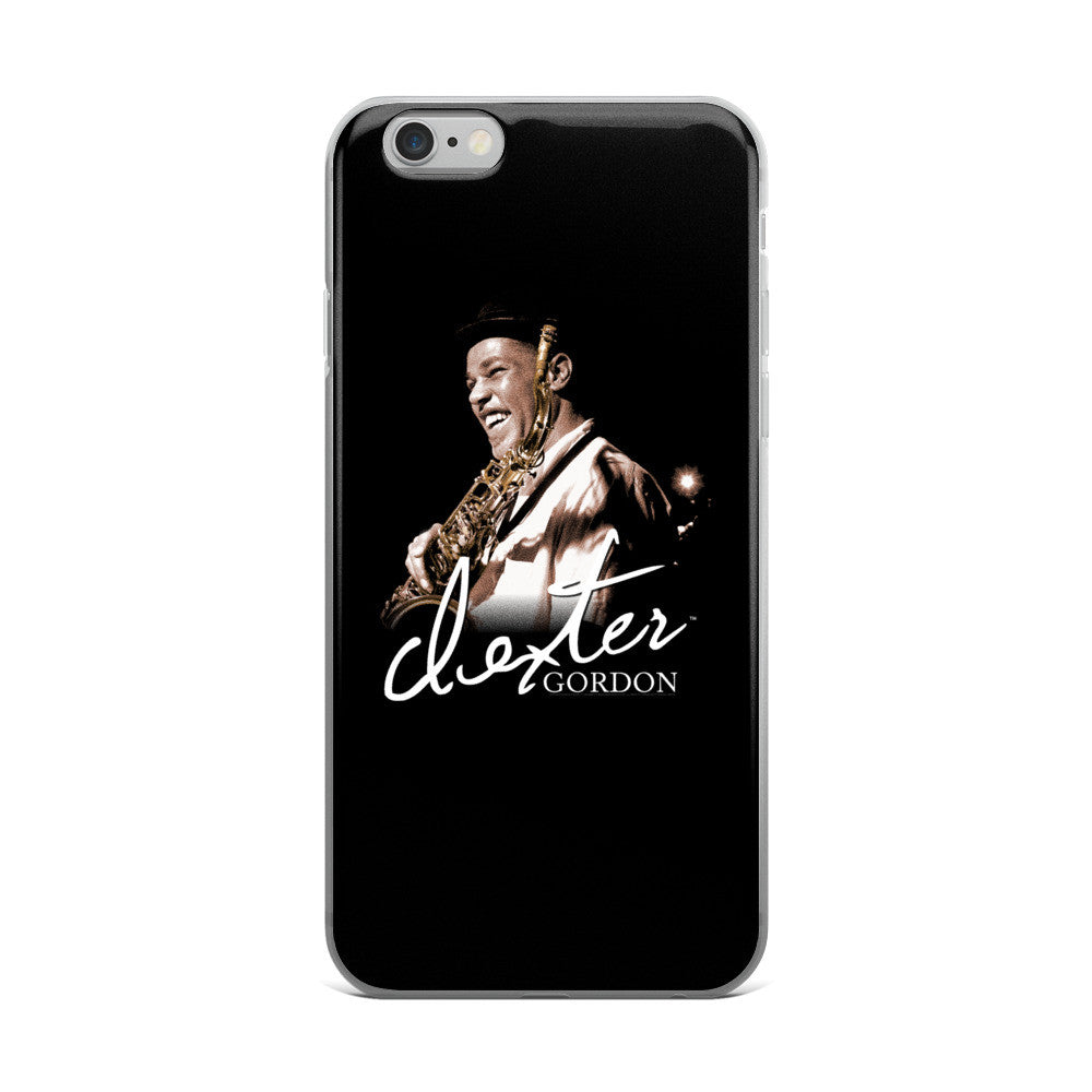 Dexter Gordon Signature iPhone Case (5/5s/Se, 6/6s, 6/6s Plus Case)