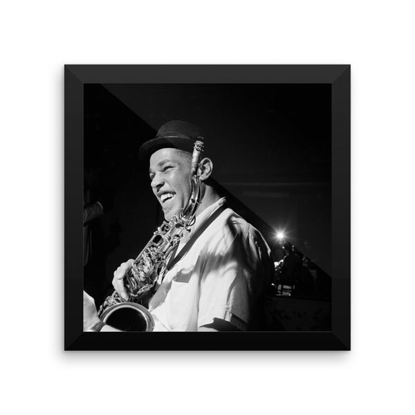 "Dexter Gordon High Resolution Framed Blue Note Session Photo (""Go"" 1962) (B)"