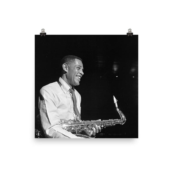 "Dexter Gordon High Resolution Blue Note Session Photo (""Doin' Alright"" 1961) (A)"