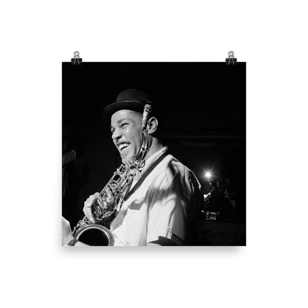 "Dexter Gordon High Resolution Blue Note Session Photo (""Go"" 1962) (B)"