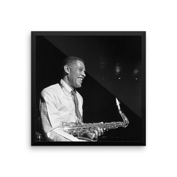 "Dexter Gordon High Resolution Framed Blue Note Session Photo (""Doin' Alright"" 1961) (A)"