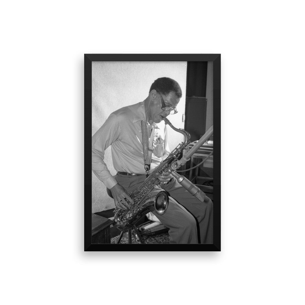 Dexter Gordon Framed Session Photo - \