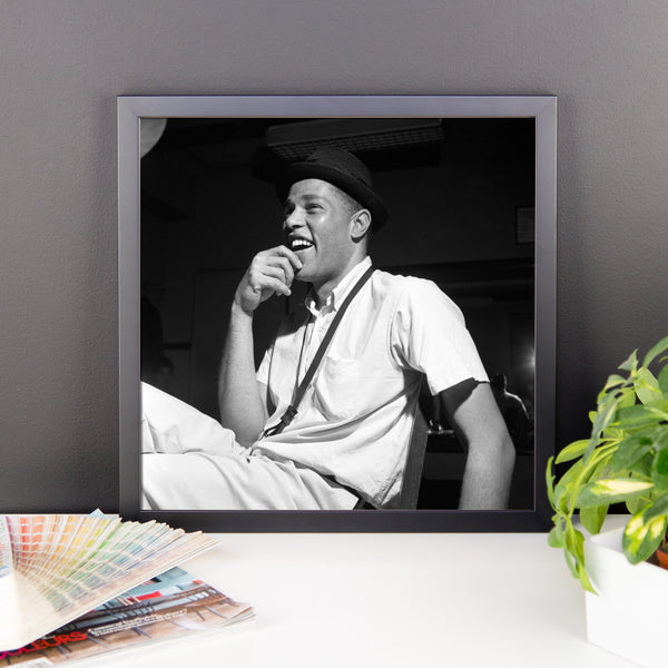 "Dexter Gordon High Resolution Framed Blue Note Session Photo (""Go"" 1962) (A)"
