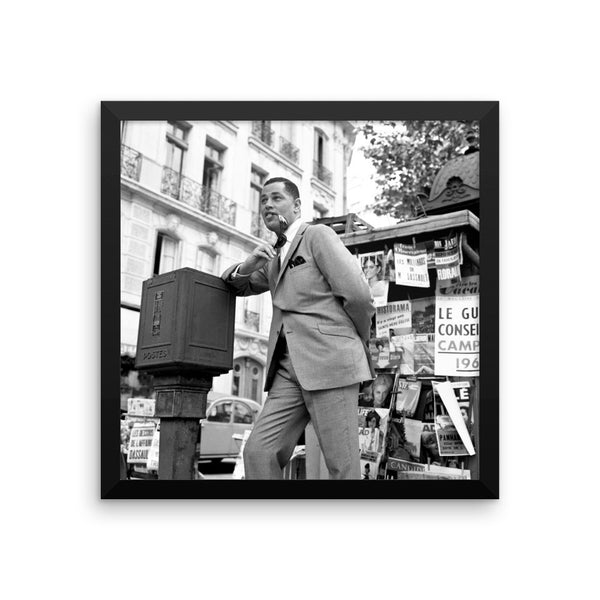 "Dexter Gordon High Resolution Framed Blue Note Session Photo (""Our Man in Paris"" 1963)"