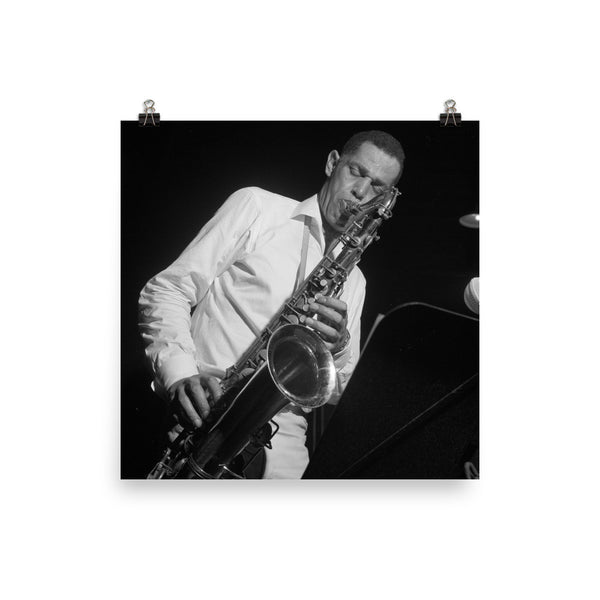 "Dexter Gordon High Resolution Blue Note Session Photo (""Club House"" 1965)"