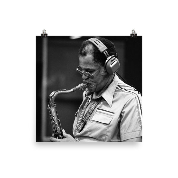 "Dexter Gordon Session Photo - ""Manhattan Symphony"" (Columbia Records 1978)"