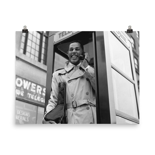 "Dexter Gordon High Resolution Blue Note Session Photo (""Dexter Calling"" 1961) (A)"